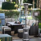 Garden Outdoor Patio Heater Propane Standing LP Gas Steel accessories US Ship