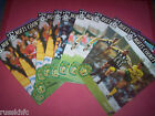 1992/93 - NOTTS COUNTY HOME PROGRAMMES CHOOSE FROM