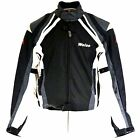 WEISE LAGUNA MENS BLACK/WHITE MOTORCYCLE JACKET M, XL