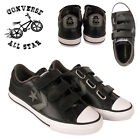 Converse Boys & Girls Kids Infant Ladies Leather Trainers Velcro Sport Shoes UK