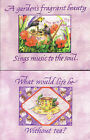 New Boxed Stationery - Choice of Two Different Designs - Suit Garden/Tea Lovers