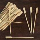 Disposable NATURAL BAMBOO PADDLE PICKS Party Wedding SILVERWARE SALE $23.18 USD
