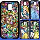 Galaxy S3 S4 S5 S6 EDGE PLUS Disney Princess Bumper Shockproof Case for Samsung