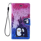 For Apple iPhone 5 5s Phone - Pu Leather Fashion Wallet Folio Stand Cover Case