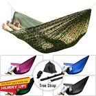 Hammock Double Camping Portable Swing Outdoor Garden Bed Hanging Bed W Tree