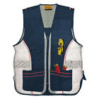 Mens Sleeveless Embroidery RockPoint NEW Zip Hunting Fishing Shooting Mesh Vest