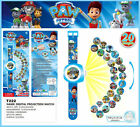 Hot Fun Cute PAW PATROL Figures Projection Watch Kids Children Boy Girl Toy Gift