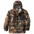 Gorgeous Boy's Billabong Over Camo Snow Jacket - Size 8, 12. NWT, RRP $149.99.