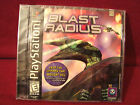 BRAND NEW VINTAGE SONY PLAY STATION 1 BLAST RADIUS 1998 RATED E