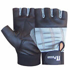 Weight Lifting Gloves Body Building Exercise Fitness Leather Gloves S TO XXL