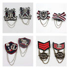 NAVAL STYLE PIN ON EMBELLISHMENTS NAVY - 5 STYLES TO CHOOSE FROM UK SELLER