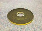 Black Single Sided Foam Tape 15mm Wide x 5mm Thick