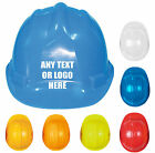 Personalised Custom Printed Hard Hat Builders Workwear Safety Helmet Hat