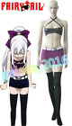 NEW! Fairy Tail Young Mirajane Strauss Cosplay Costume