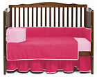 Baby Cradle Bedding Solid Reversible Bumper