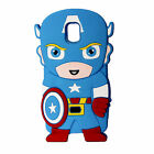 3D Cute Cartoon Super Hero Silicone Soft Case Cover For Samsung Galaxy S7 Edge