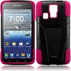 T-Stand BlackPink Combo Case Cover For KYOCERA HYDRO ICON C6730 C6530 Hydro Life