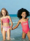 Girls Childs Toddlers Pink Swimsuit & Bikini Set Age 2 Brand New