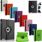 New Leather 360 Degree Rotating Smart Stand Case Cover For Apple iPad Air
