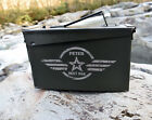 Personalized Wing man Wedding Ammo Can