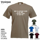 'While you are busy looking at my shirt, I am busy looking..' Funny mens T-shirt