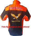SHIRT-CHEMISE GOLDWING RACING TEAM  2 COLOR ALL LOGO IN BRODERY