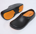 Non-Slip Mens Shoes Chef Clogs Water Oil Safety Hospital Kitchen Comfort STICO U