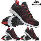 MENS ULTRA LIGHT WEIGHT NEW GROUNDWORK SAFETY STEEL TOE WORK BOOTS TRAINERS SHOE