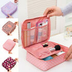 Travel Makeup Toiletry Case Pouch Flower Organizer Cosmetic Bag Portable Women