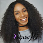 New 7A Brazilian Human Hair Full Lace Wigs For Black Women Curly Lace Front Wig