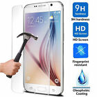 Lot New Premium Real Tempered Glass Screen Protector for Samsung Galaxy S5/6/7