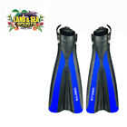 NEW Land & Sea Open Heel Power Fin Dive Fins Flippers for Diving Snorkelling