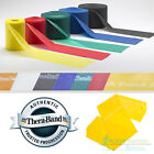 Theraband Resistance Bands Exercise Fitness Physio Thera Band Strips Catapult image