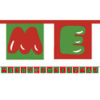 Merry Christmas or Happy New Year Bunting, 5 metres long