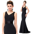 Sexy Long Mermaid Cocktail Evening Party Prom Formal Bridesmaid Ball Gown Dress