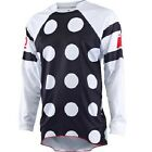 One Industries Gamma Jockey Jersey Black White Riding MX Motorcycle Gear