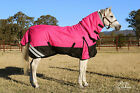 LOVE MY HORSE 4'9 - 6'9 1200D 300g Winter Waterproof Combo Rug Pink /Black