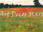 Canvas Products Red Poppies-Wendt - - CANVAS OR PRINT WAL...