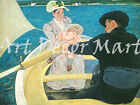 The Boating Party-Cassatt - - CANVAS OR PRINT WALL ART