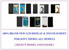100% Brand New LCD Display Touch Screen Digitizer for Sony Xperia All Models