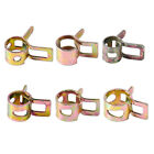 10x Spring Clip Vacuum Fuel Petrol Hose Silicone Pipe Tube Band Clamps Fastener