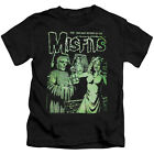 MISFITS THE RETURN Licensed Toddler Kids Graphic Band Tee Shirt 2T 3T 4T 4 5-6 7