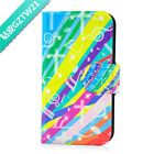 Diamond Colorful Music Notation PU Leather Flip Case Cover For LG Google