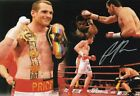 DAVID PRICE BOXING WORLD HEAVYWEIGHT CHAMPION SIGNED 12x8 INCH LAB PRINTED PHOTO