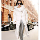 Womens Winter Thick Warm Duck Down Long Jacket Loose Coat Trench Parka Outwear