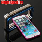 "2x Aluminum Metal Metallic Bumper Frame Case Cover Shell for iPhone 6 6S 4.7"" AU"