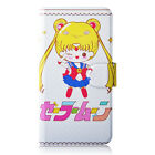 Sailor Moon Crystal PU Leather Flip Case Cover For Samsung #50