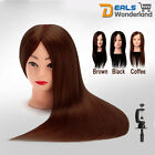 """24"""" Hair Salon Makeup Training Mannequin Hairdressing with Clamp"""
