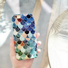 Luxury Cartoon Sweet Colorful Scales Hard back Case Cover for iPhone 6 6S 6SPlus