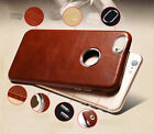 """Vorson® For """"Apple iPhone 6/6S"""" Luxury Leather Shell Back Case Cover"""